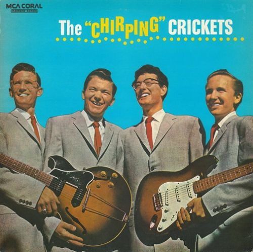 BUDDY HOLLY AND THE CRICKETS The Chirping Crickets Vinyl Record LP MCA